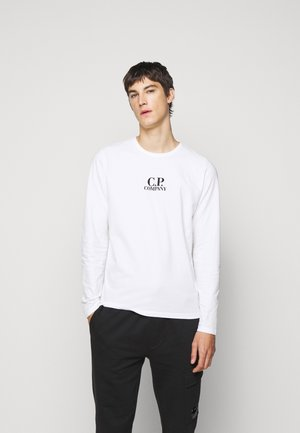 Long sleeved top - gauze white
