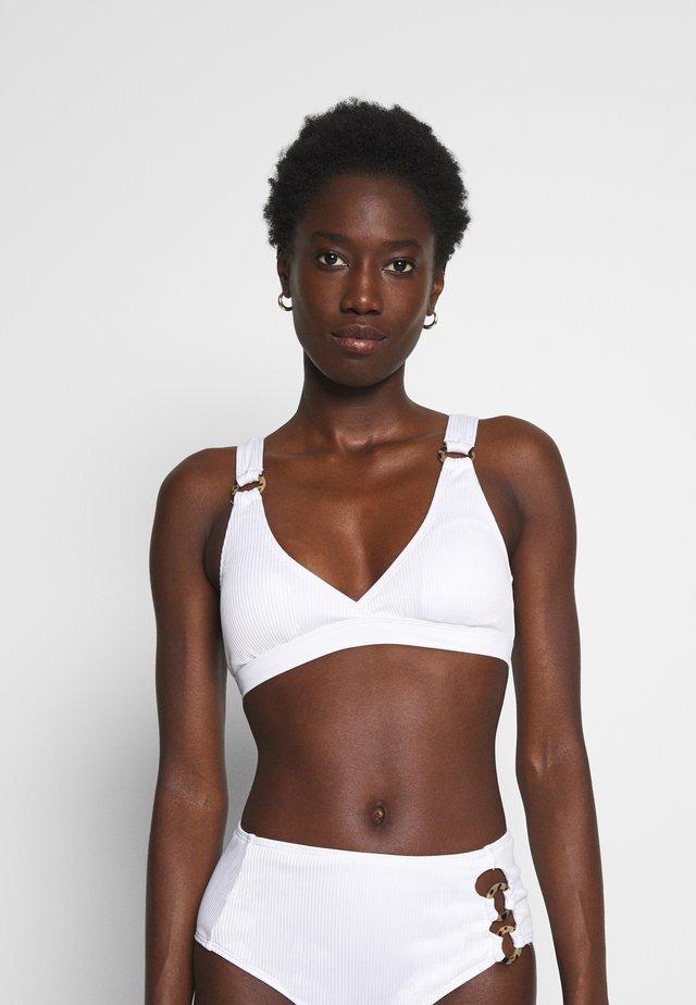 DURAN - Bikini pezzo sopra - blanco