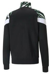 Puma - BMG ICONIC MCS FOOTBALL  - Training jacket - black-white-amazon green - 1