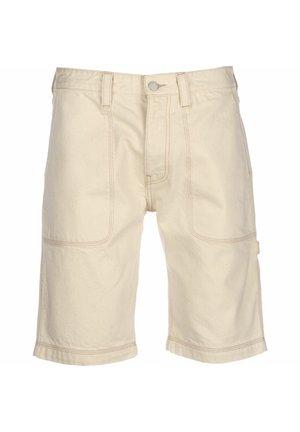 SHORTS REY WORKWEAR - Shorts - ecru rig