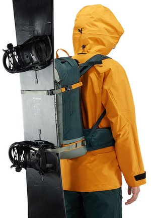 SKRÅ 27 - Hiking rucksack - green/dark green