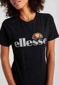 Ellesse - BARLETTA - Print T-shirt - black - 5
