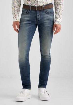 JOHN MOVIMENTO - Slim fit jeans - blau used