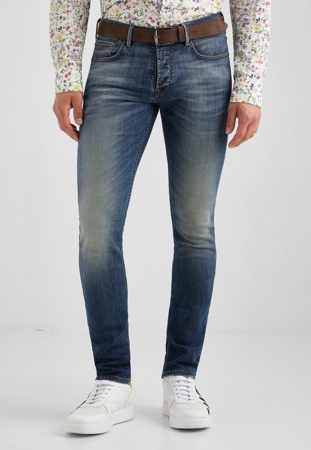 JOHN MOVIMENTO - Slim fit jeans - blau used