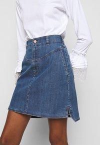 See by Chloé - A-line skirt - deep denim - 5