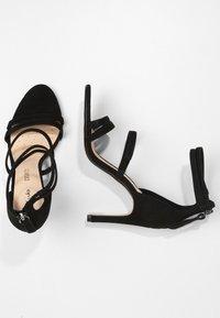 Clarks - CURTAIN STRAP - High heeled sandals - black - 2