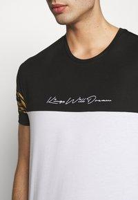 Kings Will Dream - KINGS WILL DREAM - T-Shirt print - white/ gold - 4