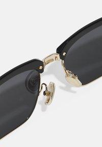 Salvatore Ferragamo - UNISEX - Sunglasses - black/gold-coloured - 6