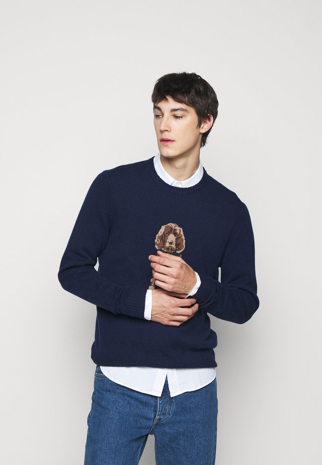 HARRY CREW - Pullover - navy
