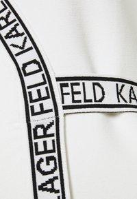 KARL LAGERFELD - WRAP DRESS - Jumper dress - white - 2