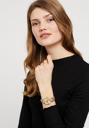 LADIES - Klokke - gold-coloured/brown