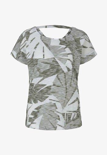 Camiseta estampada - green botanical design