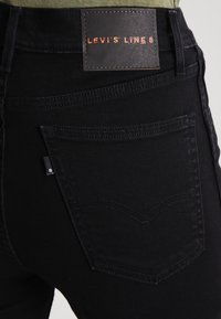 Levi's® Line 8 - LEVIS LINE 8 HIGH SKINNY - Jeansy Skinny Fit - carbon - 4