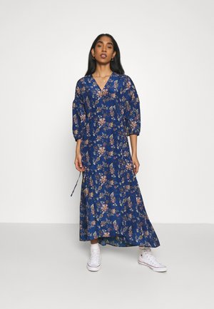 BLAIR WRAP DRESS - Maxi dress - navy