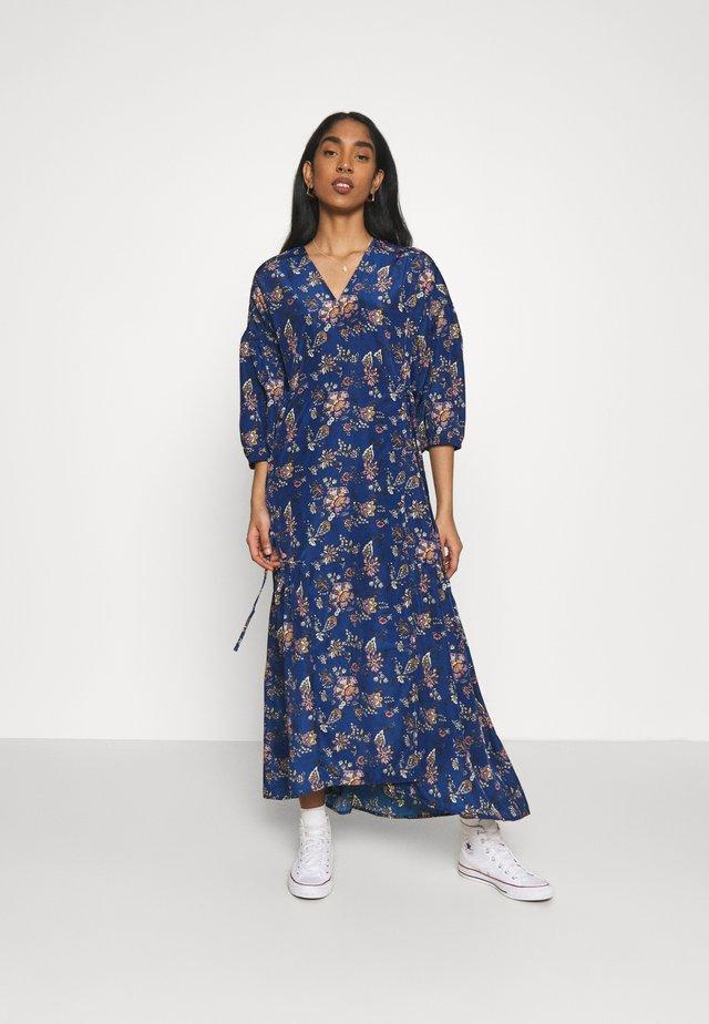 BLAIR WRAP DRESS - Maxi dress - navy