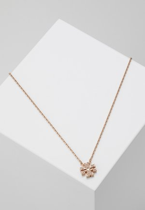 KIRA PAVE DELICATE NECKLACE - Halsband - rose gold-coloured