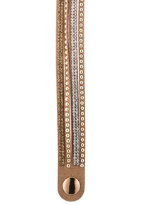 sweet deluxe - WANDA - Armbånd - brown/crystal/topaz/gold - 3