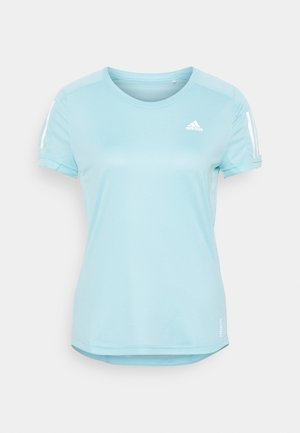 OWN THE RUN TEE - T-shirt imprimé - hazy sky