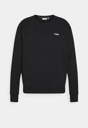 EDIE CREW - Sweatshirt - black