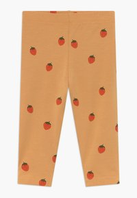 TINYCOTTONS - STRAWBERRIES PANT - Legíny - toffee/red - 0