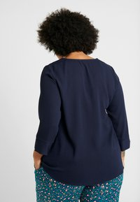 Dorothy Perkins Curve - OVER HEAD BUTTON - Bluser - navy - 2