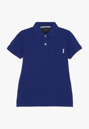 GARMENT DYED - Polo - true blue
