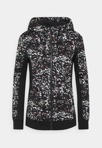 Roxy - FROST PRINTED - Fleece jacket - true black izi - 4