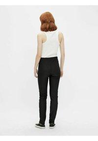 Pieces - Trousers - black - 2