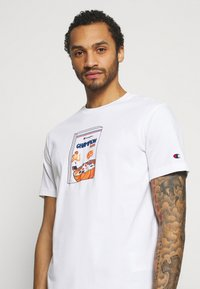 Champion Rochester - CREWNECK - Print T-shirt - white - 3