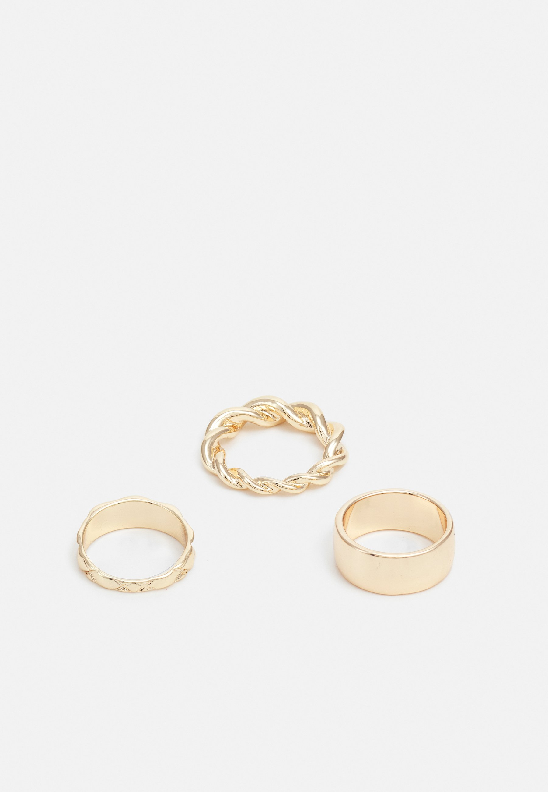 Homme TEXTURED BAND 3 PACK - Bague