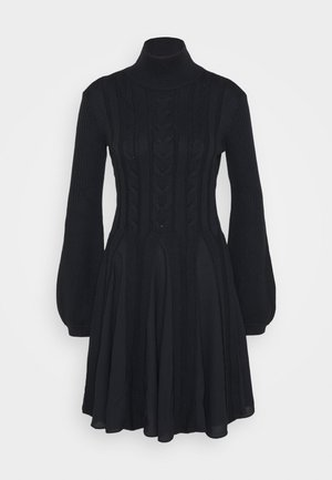 DRESS - Jumper dress - blu navy