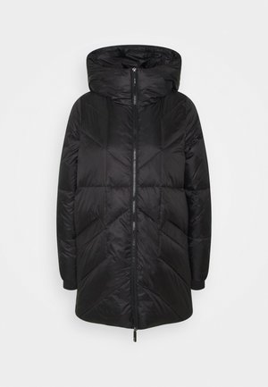 NMFELLA LONG JACKET - Down coat - black
