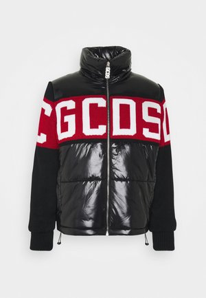 LOGO MIX PUFFER - Winter jacket - black
