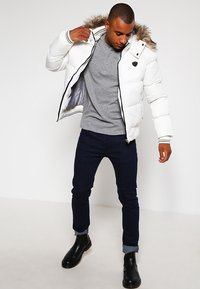 Schott - Winter jacket - white - 1