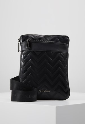 NUTRIA EMBOSSED CROSSBODY - Across body bag - nero
