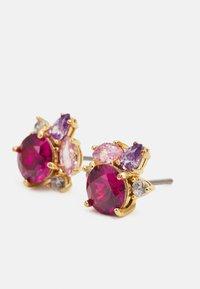 kate spade new york - CLUSTER STUDS - Earrings - pink/multi - 2