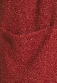 Vila - VIRIL OPEN - Cardigan - red dahlia melange - 2