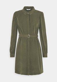 ONLY - ONLARIS LIFE PUFF SHORT DRESS - Shirt dress - kalamata - 5