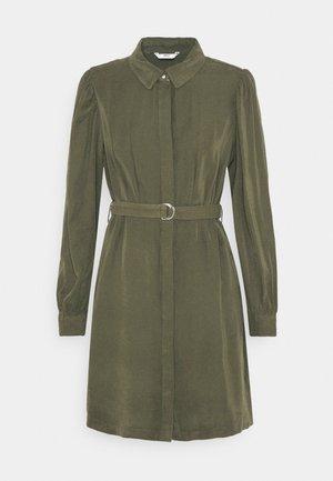 ONLARIS LIFE PUFF SHORT DRESS - Shirt dress - kalamata