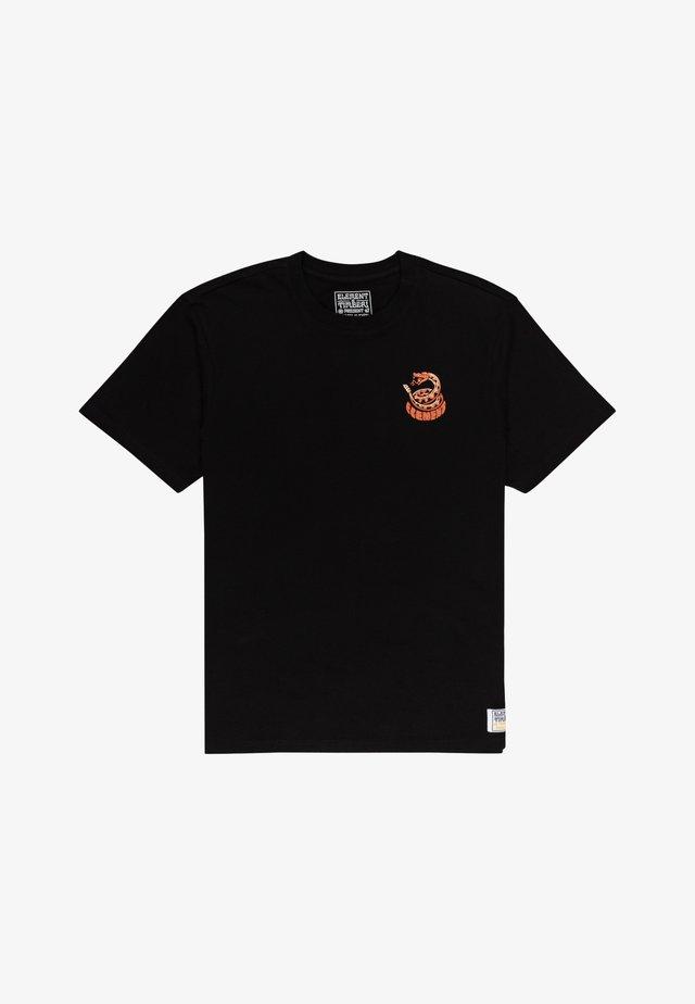 TIMBER - T-shirt print - flint black