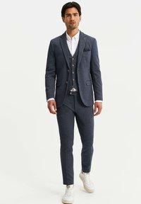 WE Fashion - HEREN SLIM FIT  - Sako - dark blue - 1