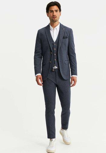 HEREN SLIM FIT  - Chaqueta de traje - dark blue