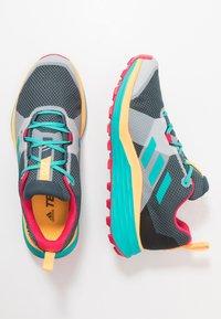 adidas Performance - TERREX TWO GORE-TEX - Zapatillas de trail running - blue/solar gold - 1