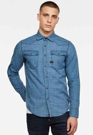 3301 SLIM - Shirt - blue