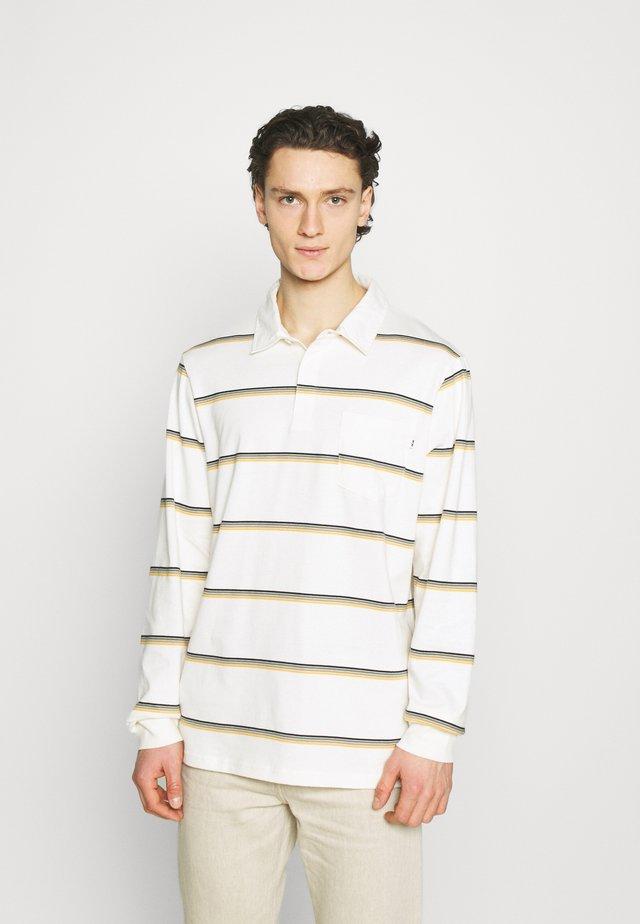 BECK LONG SLEEVE - Poloshirt - offwhite