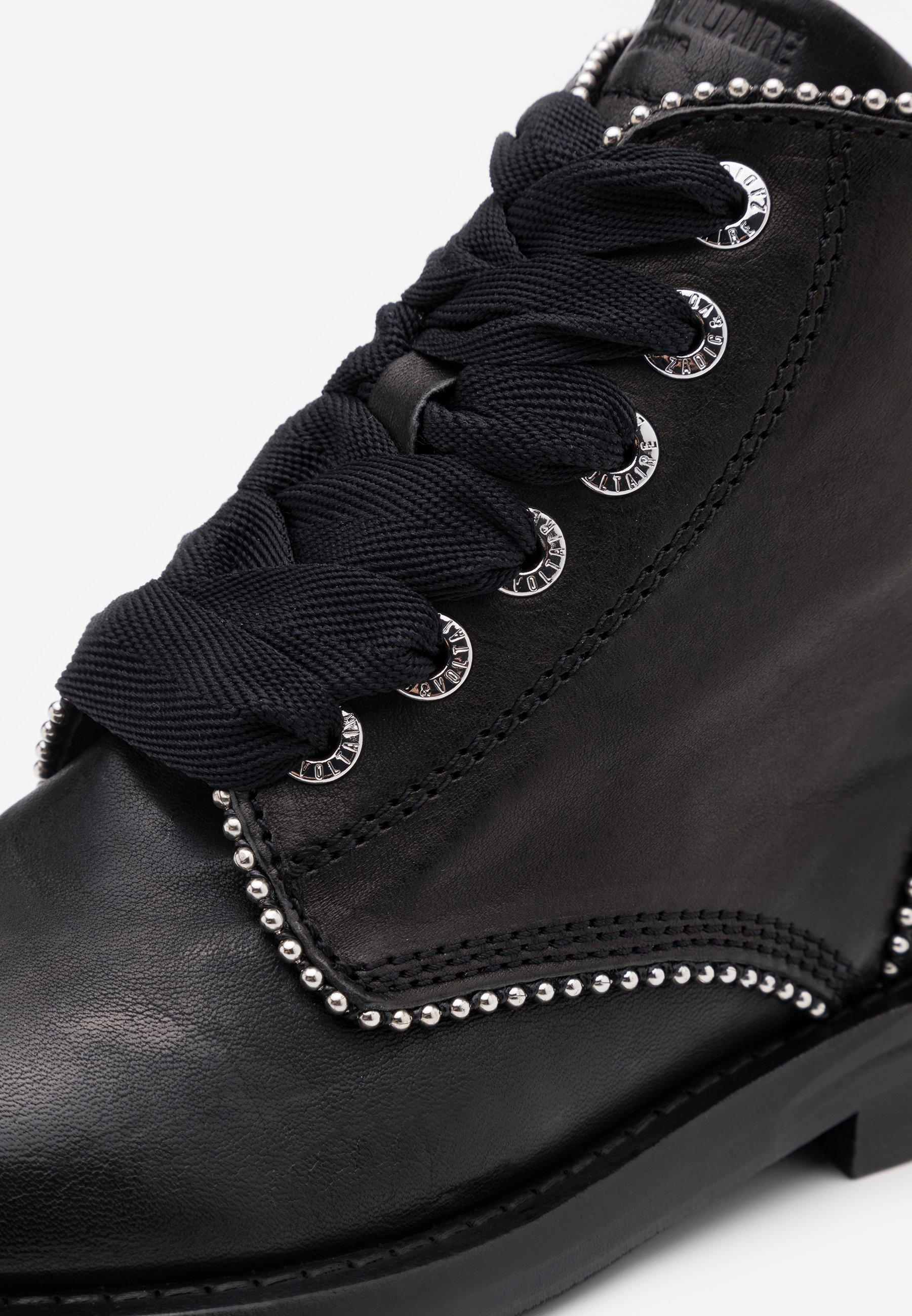 Zadig & Voltaire LAUREEN ROMA Ankle Boot noir/schwarz