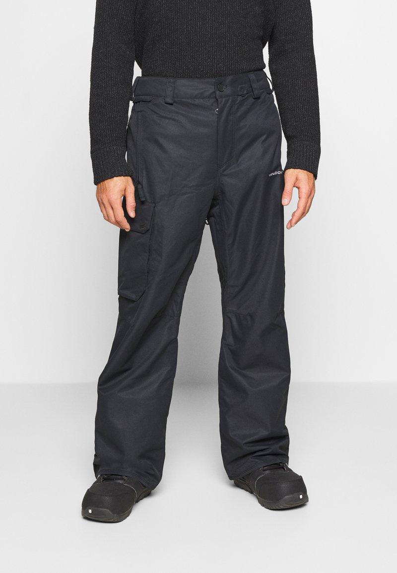 Volcom - HUNTER PANT - Snow pants - black