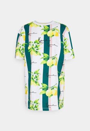 SMALL SIGNATURE TEE  - Basic T-shirt - white
