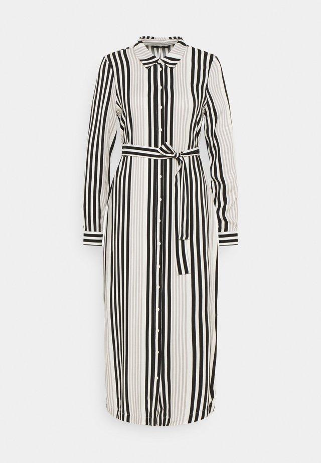 VMNIVA DRESS - Shirt dress - ash/black/birch