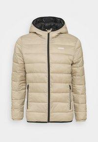 JJVINCENT PUFFER HOOD - Light jacket - crockery